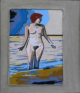 acryl/canvas/MDF 29,5x34cm