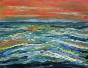 The Northsea-acryl on canvas-70x90 cm