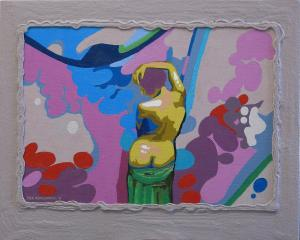 Dick Hogewoning-Party time-oil-canvas op paneel
