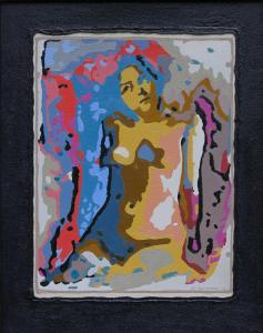 Innocent-Oil on canvas on MDF-40x50cm