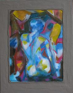 oil on canvas/wood-40x50cm