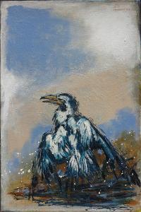 Oil victim- Acryl on canvas-40x60cm