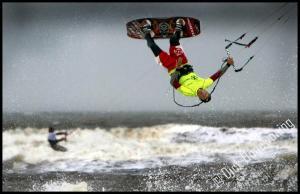 NL Kampioenschappen kitesurfen Noordwijk