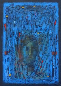 Nocturne-selfie - canvas- acryl-50x70cm