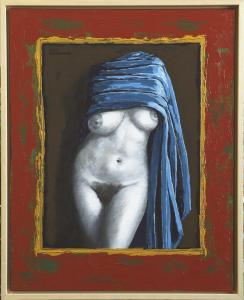TORSO (1)- Canvas on board-Acryl- 40x50cm