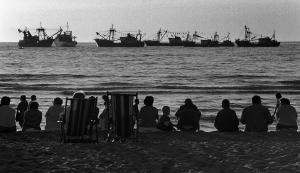 Vlootschouw voor de kust, Katwijk