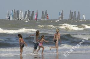 Zeilwedstrijd Noordwijk-Katwijk